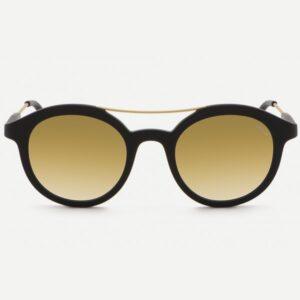 occhiali-da-sole-saraghina-aurelio-iron-nero-satinato-lente-biflash-oro-bronzo