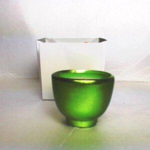 Profumo d'ambiente candela in coccio  fragranza white musk.