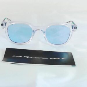 Occhiale italia independent 0813.012.gls crystal glossy acetate