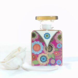 Bottiglia jacko  175 ml.con fiore cm.7