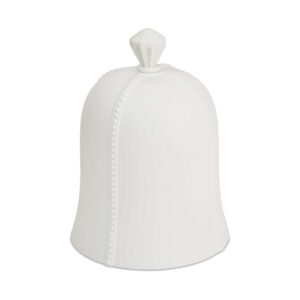 Cupola cm. 22,50 solid colore bianco latte in resina.