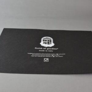 Tovaglietta colazione fibra cellulosa Cm.47×31,5 Colore black (nero)