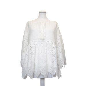 Top tg.free art. g40 top tanger embro tu blanc 100%cotone
