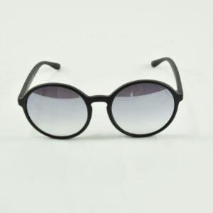 Occhiale da sole marca saraghina modello nadine -115jj colore nero satinato lente flash grigio collezione primavera estate 2019