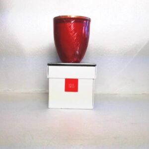 Profumo d'ambiente candela in bicchiere di vetro fragranza iris