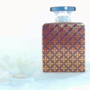 Bottiglia bono  375 ml.con fiore cm.9 mrbot.rol04 diffusore profumo.