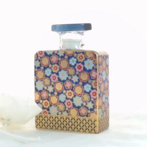 Bottiglia jett  375 ml.con fiore cm.9 diffusore profumo.