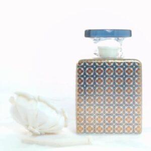 Bottiglia sting 175 ml.con fiore cm.7 mrbot1.rol072