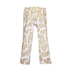Pantalone sandy Tg.44 t294 115 sandy colore 008 bianco/verde