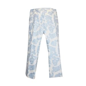 Pantalone sandy Tg.46 t294 115 sandy ffil coupe colore 036 bianco/azzurro.
