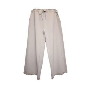 Pantalone al polpaccio ead3 Tg.2 elafleece colore 23 sabbia