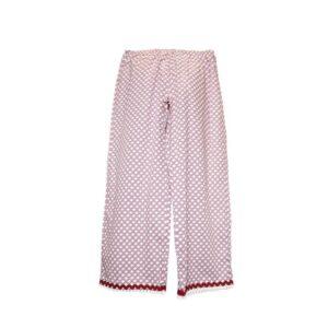Pantalone Tg.l smoc passion pants goccia liberty cotton colore fantasia chiaro.