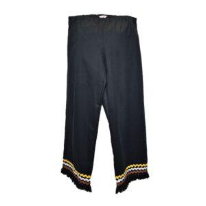 Pantalone Tg.l noir pants wilma cruise weft colore nero