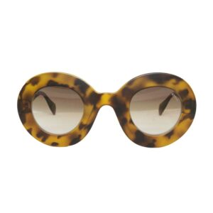 Occhiale saraghina yvonne-26mun,tartarugato,lente marrone sfumata.