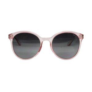 Occhiale saraghina gildone-260uo,rosa cristallo lucido, lente grigia.