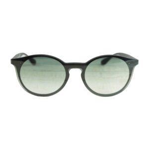 Occhiale saraghina  space1-02g25 space1 montatura nero/blu satinato lente sfumata verde.