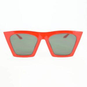 Occhiale saraghina fernanda-254mge rosso,lente verde.