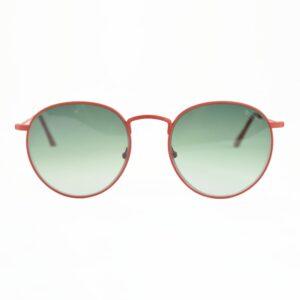Occhiale saraghina maso-356mgr rosso,lente verde sfumata.