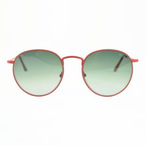 Occhiale Saraghina Maso Rosso Lente Verde Sfumata