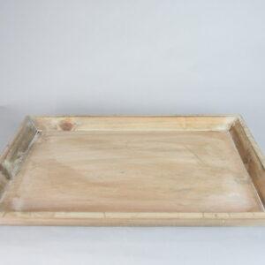 Vassoio small in legno colore marrone cm.33×46.