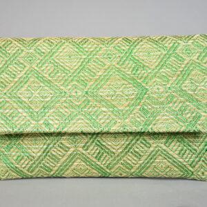 Borsetta in tessuto aca467 colore verde collezione primavera estate 2019