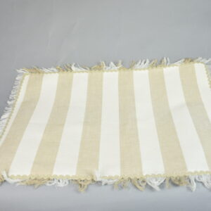 Tovaglietta vg0812000000 tessuto windy  a righe  lino cm50x34