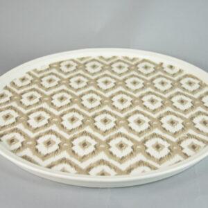 Piatto torta cm.33,5×5.tcpla.tile01