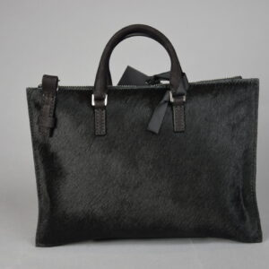 Borsa mod.mini aiko materiale 022 cavallino colore 980 nero.