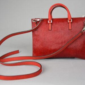 Borsa mod.mini aiko materiale 022 cavallino colore 310 rosso.