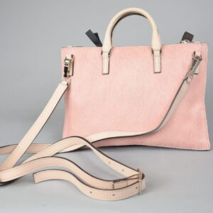 Borsa mod.mini aiko materiale 022 cavallino colore 303 rosa.
