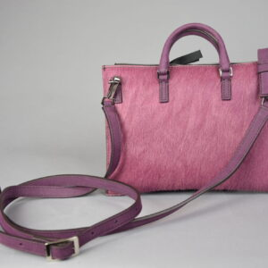 Borsa mod.mini aiko materiale 022 cavallino colore 305 malva.