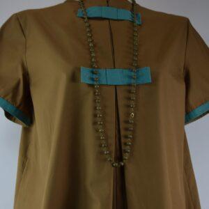 Collana donna  filigrana  colore bronzo collezione primavera estate 2019 nostra produzione