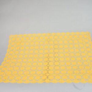 Tovaglietta Colazione morbida Cm.36×53 Colore sunflower (giallo)Impermeabile vinile morbida.