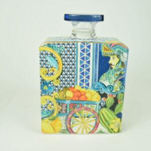 Bottiglia 375ml colore blu sbtmagn.b&r03 produttore baci milano