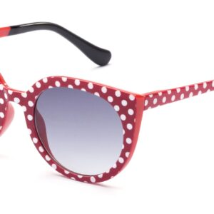 Occhiale italia independent mod.disney kids red pois