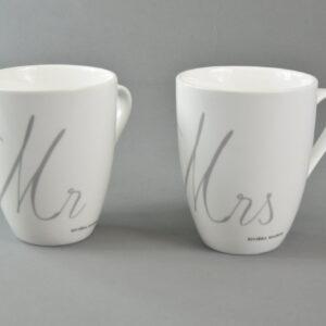 Tazza Mug rgm306440 mug mrs porcellana 10,5 h12,5 colore bianco.