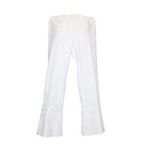 Pantalone  t262p 104 modello anna colore 009 bianco.