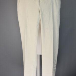 Pantalone ross t152 205 mod.ross colore 009 bianco.