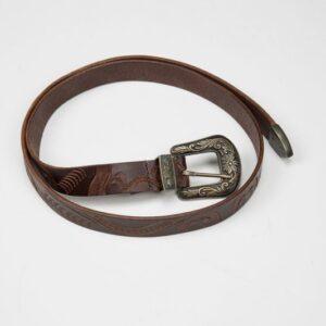 Cintura dis 127 art 704 col.1 cintura colore testa di moro.