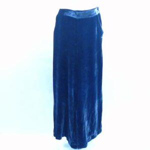 Pantalone  velluto,colore blu, cod.247