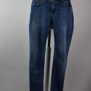Jeans mod.giusy art.3581/t013/g628 mod.pantalone 7/8 colore jeans blue.