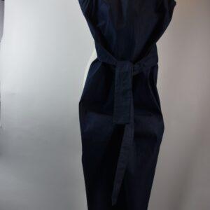 Pantalone donna nome articolo liquerizia estivo collezione primavera estate 2019  colore jeans con gro rosso sartoria limitata pezzi unici stilista Giotta di rimini.