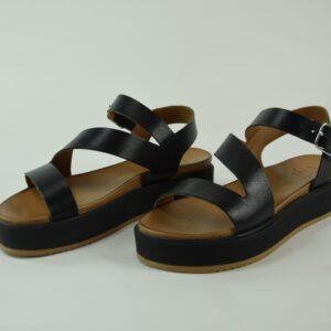 Sandalo donna codice articolo lo112003 calzatura donna colore black collezione primavera estate 2019.