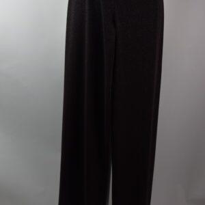 Pantalone palazzo lame' colore marrone collezione primavera estate 2019 casa produttrice 21a spiaggia