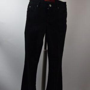 Pantalone donna colore nero art.guenda pa051 20r120 col.1002 nero  collezione estate primavera 2019  marca latino'brand.