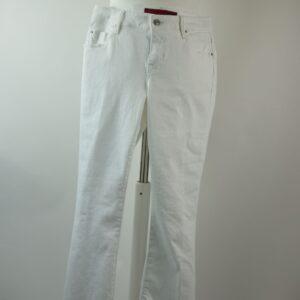 Pantalone donna colore bianco art.guenda pa051 20r120 col.1001 bianco  collezione estate primavera 2019  marca latino'brand.