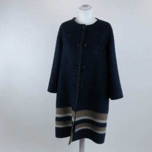 Cappotto tg.m lana pettinata double cp 016 230