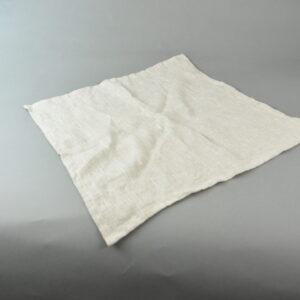 Tovagliolo fru fru cm.43×43-colore corda -100%lino