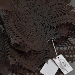 Tovaglie 137×137 quadrata colore chocolate.
