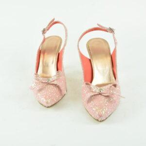 Sandalo numero 38 con brillantini argento